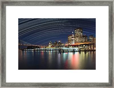 Usa, California, San Francisco Framed Print