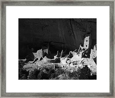 Usa, Colorado, Mesa Verde National Park Framed Print