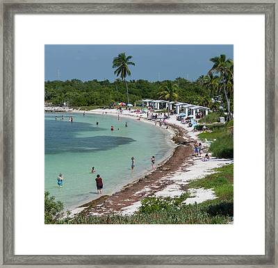 Usa, Florida, Bahia Honda State Park Framed Print