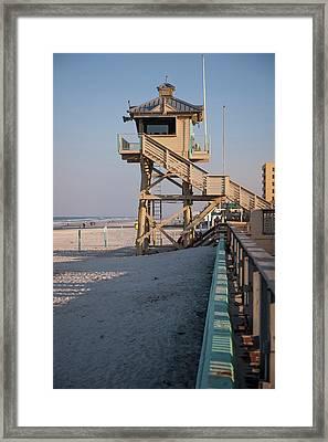 Usa, Florida, New Smyrna Beach Framed Print
