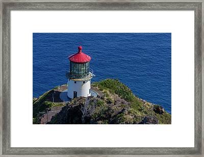Usa, Hawaii, Oahu, Waimanalo Framed Print by Charles Crust