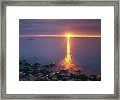 Usa, Maine, Acadia National Park,? Framed Print by Jaynes Gallery