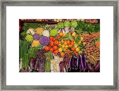 Usa, Massachusetts, Boston, Boston Food Framed Print