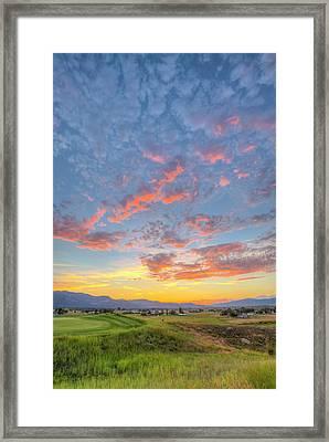 Usa, Montana, Missoula Framed Print