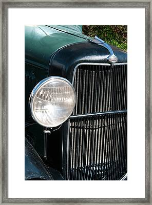 Usa, Nevada A 1934 Model T Ford Framed Print by Michael Defreitas