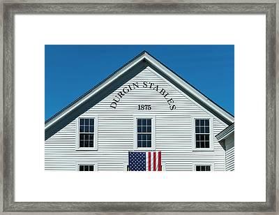 Usa, New Hampshire, Lake Winnipesaukee Framed Print by Walter Bibikow