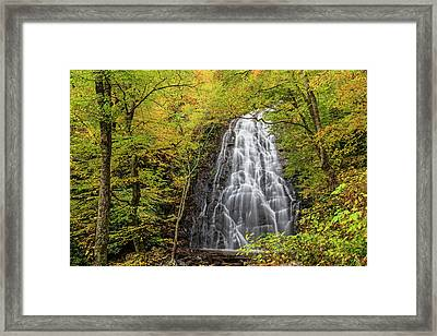 Usa, North Carolina, Blue Ridge Parkway Framed Print