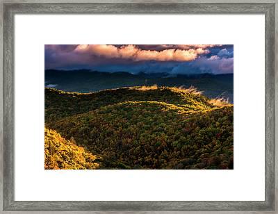 Usa, North Carolina, Brevard Framed Print by Jaynes Gallery