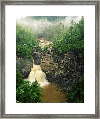 Usa, North Carolina, Pisgah National Framed Print by Adam Jones