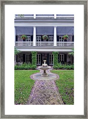 Usa, Sc, Charleston, Historic District Framed Print