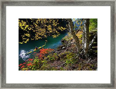 Usa, Washington State, North Cascades Framed Print by Gary Luhm