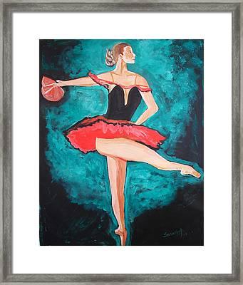 U.s.ballet Dance Framed Print by Anand Swaroop Manchiraju