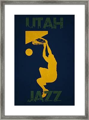 Utah Jazz Framed Print