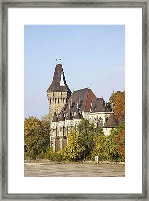 Vajdahunyad Castle In Budapest Framed Print