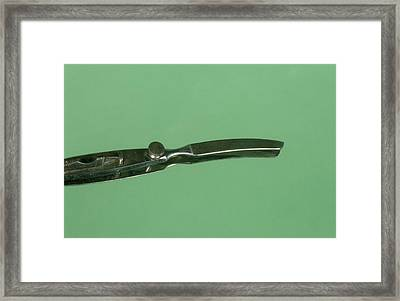 Valentin Knife Framed Print