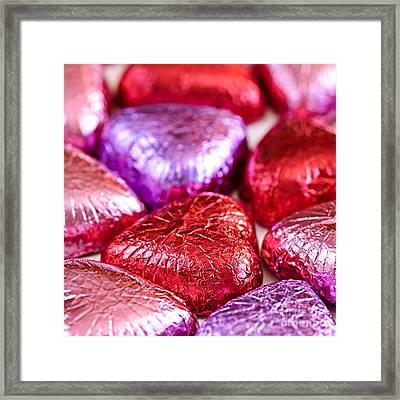 Valentine Hearts Framed Print