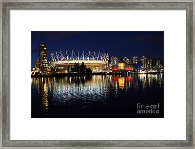 Vancouver British Columbia 3 Framed Print