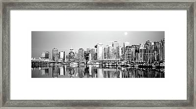 Vancouver, British Columbia, Canada Framed Print