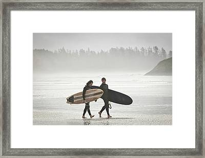 Vancouver Island, Pacific Rim National Framed Print