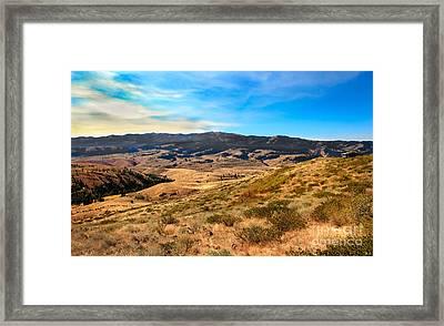 Vast View Framed Print by Robert Bales