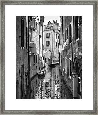 Venetian Alleyway Framed Print