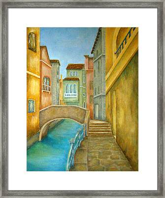 Venezia Framed Print by Pamela Allegretto