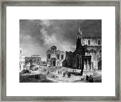 Venice, 18th Century Framed Print by Granger