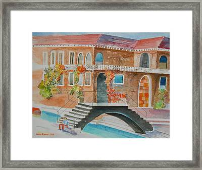 Venice Framed Print by Geeta Biswas