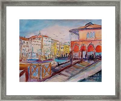 Venice Framed Print by Ingrid  Becker