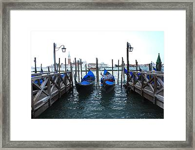 Framed Print featuring the photograph Venice Italy by Jean Walker
