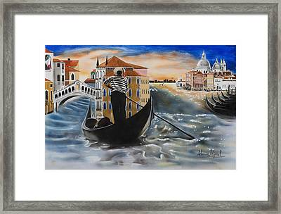 Venice Passing By Framed Print by Shawn Morrel