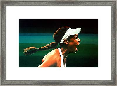 Venus Williams Framed Print