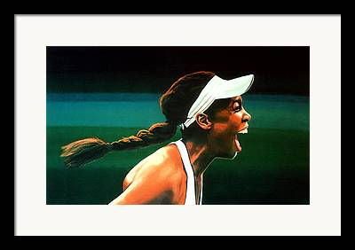 Venus Williams Framed Prints