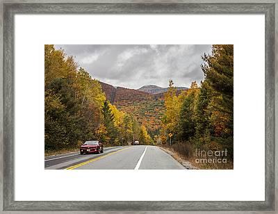 Vermont Fall Framed Print