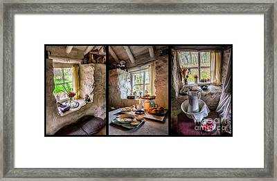 Victorian Cottage Framed Print