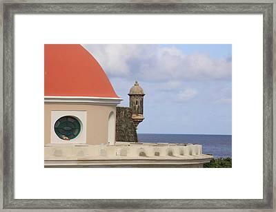 Viejo San Juan Framed Print by Daniel Sheldon