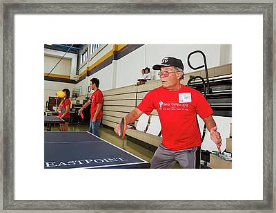 Viet Senior Olympics Framed Print by Jim West