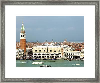 View From San Giorgio Maggiore Framed Print
