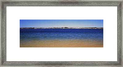 View Of Ocean, Provincetown, Cape Cod Framed Print by Panoramic Images