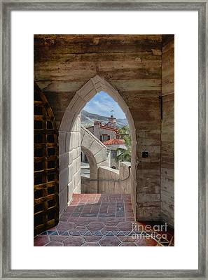 View To A Different Time Framed Print