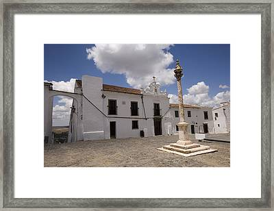 Village Of Monsaraz Portugal Framed Print by Jim  Wallace