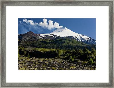 Villarrica National Park, Chile Framed Print by Scott T. Smith
