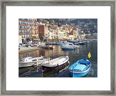 Villefranche-sur-mer    Framed Print