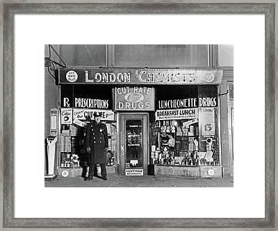 Vincent 'mad Dog' Coll (1908-1932) Framed Print by Granger