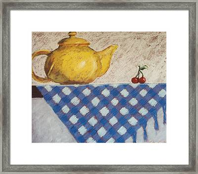 Vintage Still Life Series Framed Print by Kelley Smith
