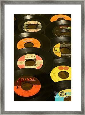 Vinyl Lover Framed Print by Paul Ward