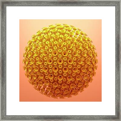 Virus Particle Framed Print