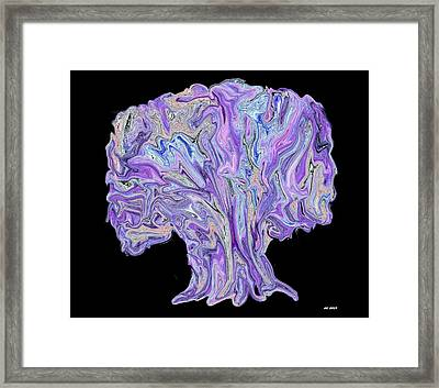 Vision Tree Framed Print by Aliceann Carlton