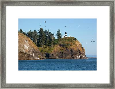 Wa, Cape Disappointment State Park Framed Print by Jamie and Judy Wild