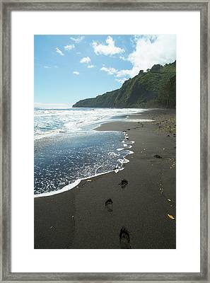 Waipio Valley, Hamakua Coast, Big Framed Print